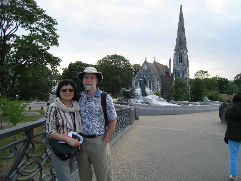 Daryl and Gisele in Copenhagen