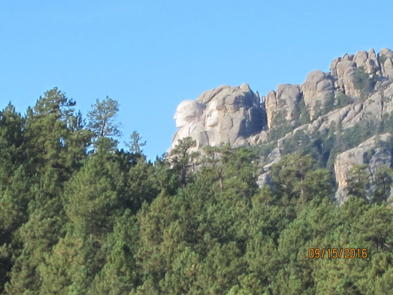 Mt Rushmore from room